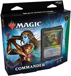 Magic The Gathering: Kaldheim  Commander Deck   Elven Empire   99 cards   1 Foil Commander   10 Tokens Dupla Face   1 Cont...