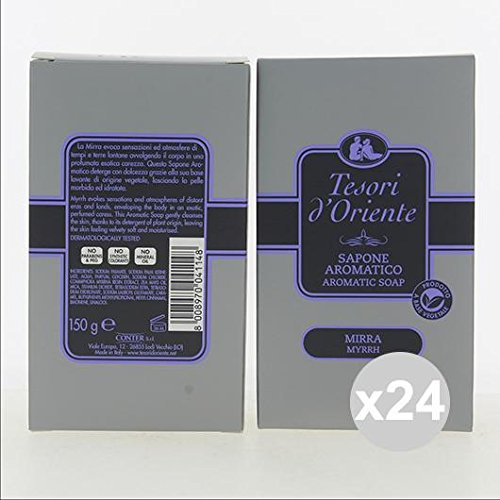 Lot 24 trésors d'Orient Savon 150 gr Myrrhe 150g nettoyage du corps