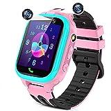 Reloj Inteligente Niños,smartwatch para Niña y Niño con Llamada 14 Juegos cámaras duales Alarma...