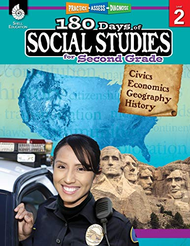 180 Days of Social Studies: Grade 2 - Daily Social Studies Workbook for Classroom and Home, Cool and