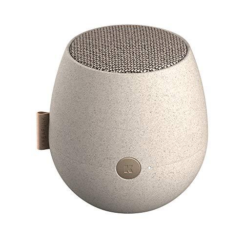 KREAFUNK aJAZZ Eleganter Edler Bluetooth Lautsprecher Dänischen Design TWS True Wireless Stereo (Care (Wheat Fibre))