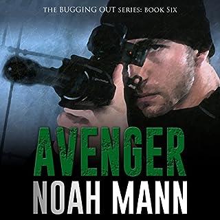 Avenger audiobook cover art
