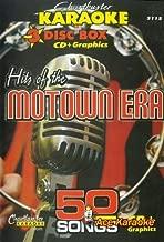 Chartbuster Karaoke CDG 3 Disc Pack CB5115 - Hits of the Motown Era
