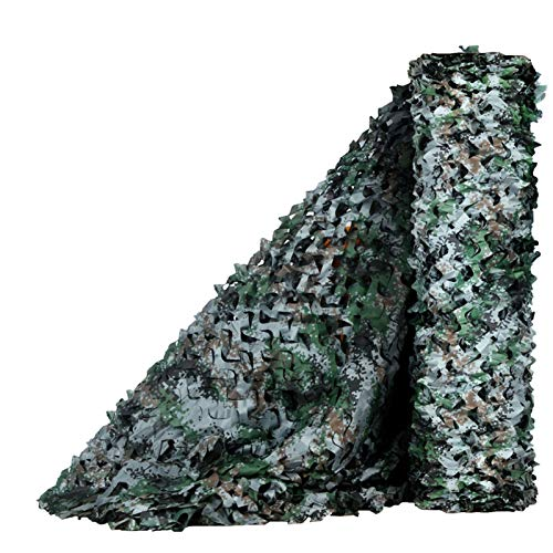 Digital Camouflage Netting Army Military Camo Net,Reinforced Sunblock Mesh Cover,Lightweight Sunscreen Shelter,for Decoration,Shooting,Camping,Hunting,Jungle Bird Watching,Blind(8x10m/26x33ft)