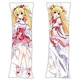 F Zonn Moeyu Hugs Pillow Case Hug Pillow Cover Manga Cosplay Long Hugging Body 2 Way Tricot 105 x 40cm(41.3in x 15.7in)