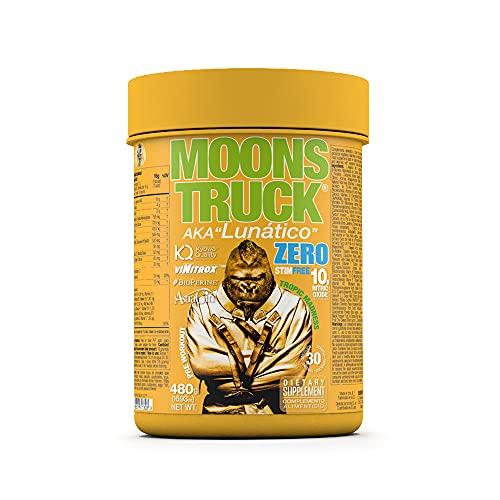 Moonstruck Zero - Pre entreno - Pre Workout en polvo - Sin Estimulantes - Suplemento Deportistas - Aminoácidos - Creatina Monohidratada - Extractos Vegetales y Vitaminas - 480 gr (Tropic Madness)
