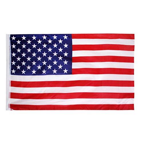 Decoración de Bandera de American EE.UU. Grande 150 * 90cm / 5 * 3 Pies