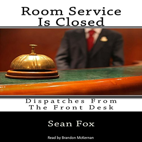 Room Service Is Closed audiobook cover art