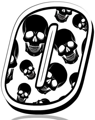 Biomar Labs® Startnummer nummers Auto Moto Vinyl Sticker Skull Schedel Schedel Motorfiets Motocross Motorsport Racing nummer Tuning 0, N 330