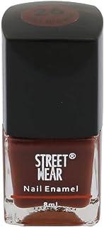 Street Wear Nail Enamel, Hot Brownie, 8ml