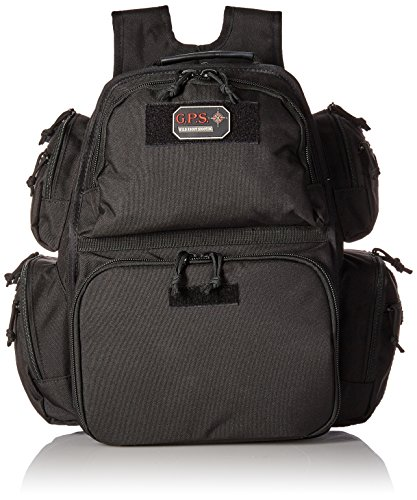 G.P.S Executive Backpack Range Bag, Black