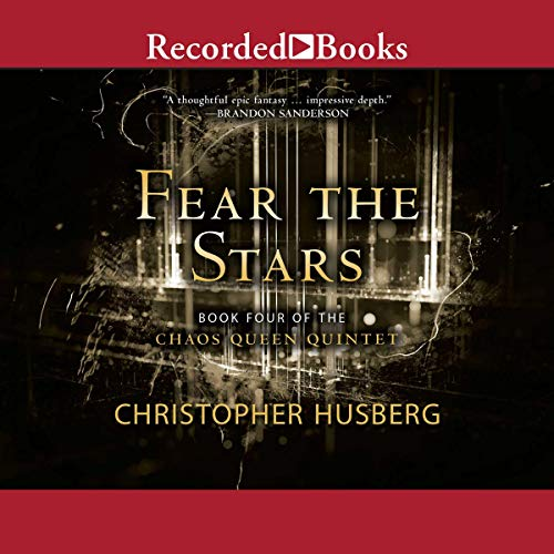 Fear the Stars audiobook cover art