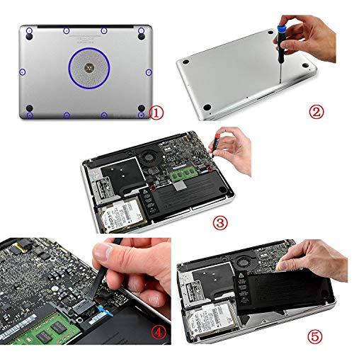 JQSPOWER A1322 Ersatz Akku für MacBook Pro 13