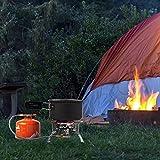 Swide Upgrade Premium 10 Piezas Kit de Olla de Picnic Almacenamiento Plegable Utensilios de Cocina para Acampar Accesorios para ollas de Campamento Juego de ollas de Camping Ligeras y apposite