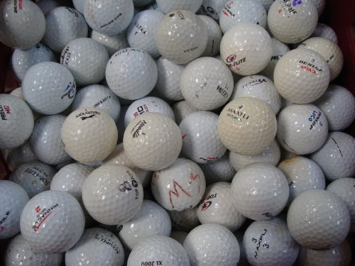 Lakeballs 100 Assorted Practice & Play golf balls