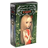 Overlord The Dark Mansion Tarot Cards Deck versión regular 3ª edición tamaño póker papel duradero juego de cartas de adivinación marrón (color caqui oscuro)