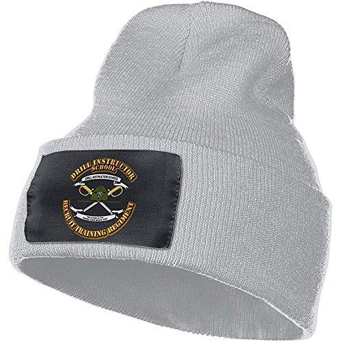Quintion Robeson USMC Drill Instructor School Beanie Hut Warme Kabelstrickmütze Unsexuelle Wintermütze
