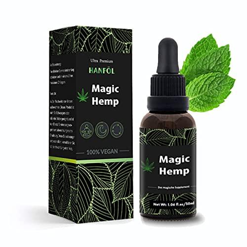 Magic Hemp Hanföl | 30 ml hochwertiges...