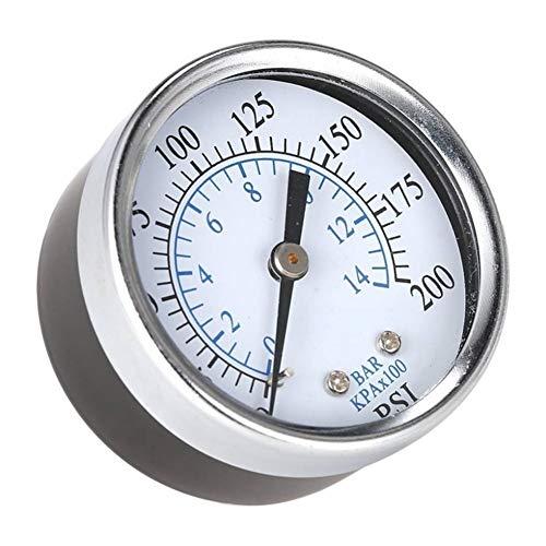 Drukmeter Draagbare Drukmeter Luchtcompressor Hydraulische Vacuüm Gauge Manometer Druk Tester 0-200 Psi 0-14 Bar 1/4 Meter