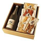 ギフト 日本酒 純米大吟醸【岩魚】720ml×清酒漬け珍味4種セット