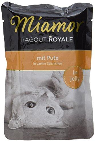 Miamor Katzenfutter Ragout Royal Pute 100 g, 22er Pack (22 x 100 g)