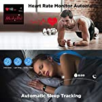Fashion Shopping ANBES Health and Fitness Smartwatch with Heart Rate Monitor, Smart Watch for Home