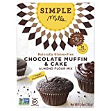 Simple Mills Almond Flour Mix, Chocolate Muffin & Cake, 11.2 oz...