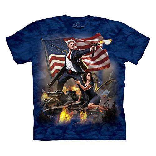 The Mountain Men's Clinton T-Shirt Navy L
