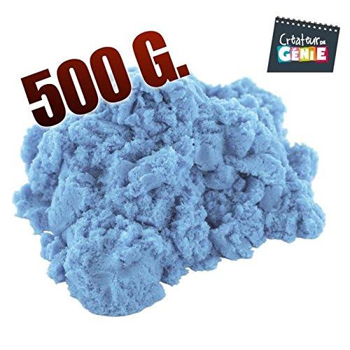 500g Sable magique type super sand (Bleu)
