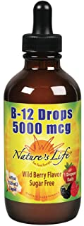Nature's Life B-12 Drops, Methlycobalamin | 4 oz