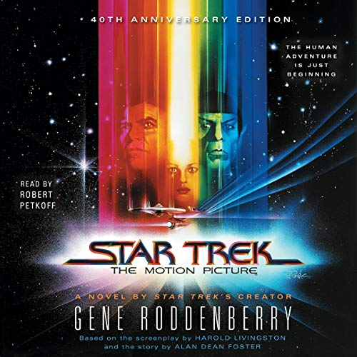 Star Trek: The Motion Picture audiobook cover art