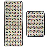 Leebei Kitchen Floor Mats Non-slip Area Rugs,Kitchen Anti-fatigue Floor Mats - Door Entrance/Bedroom/Bathroom/Desk