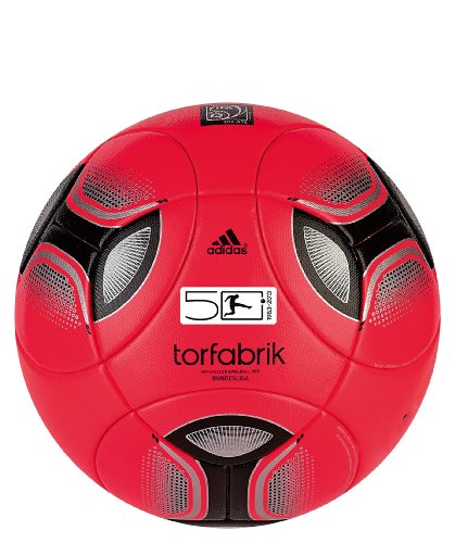 Pallone da calcio adidas Torfabrik Omb Winter 2012, Turbo/black, W44030