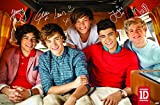 Sweetums Signatures One Direction - Bus Poster,12x18inch,30x46cm