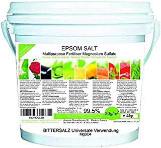 Ekologisk gödsel Epsom-salter (Magnesiumsulfat) MAGNESIUM Gödningsmedel ORKARD 3,5 kg Gödselroser, tomater, citrus- och fr...