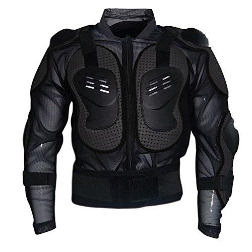 Dexinx Motorrad Rüstung Jacke Motocross Mountain Radfahren Skating Snowboard Body Protector Schwarz 3XL