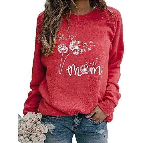 Beste Freunde Pullover Damen Kapuzenpullover Damen Sweatshirt Damen Langarmshirts Herbst Winter Langarm für Frauen mit Motiv Hemd Casual Printing Langarm Sweatshirt Pullover Shirts Top Bluse