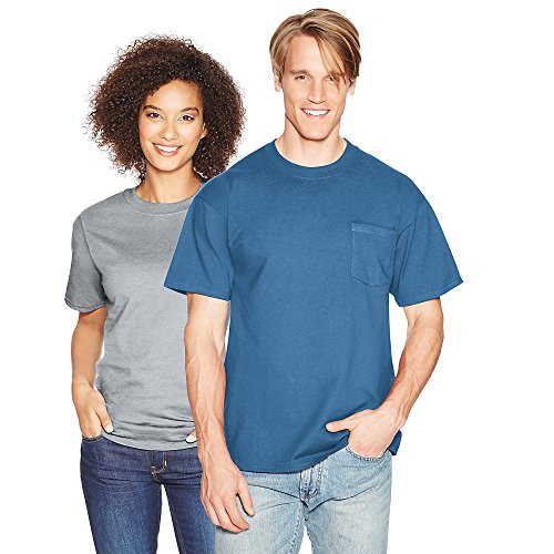Hanes Men's Beefy-T T-Shirt with Pocket