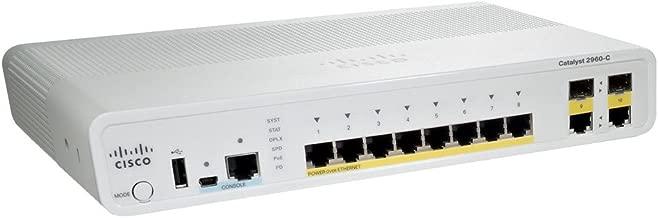 Cisco Catalyst 2960C-8PC-L Switch - WS-C2960C-8PC-L