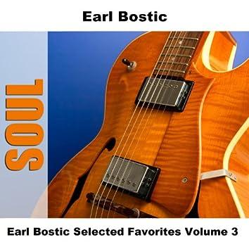 Earl Bostic Selected Favorites Volume 3