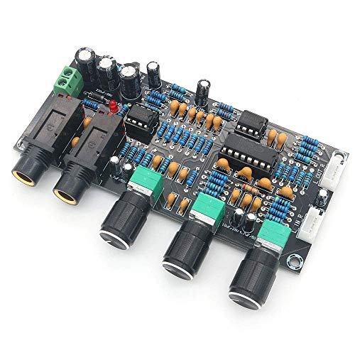 ICQUANZX XH-M273 PT2399 Digitale microfoon Versterkerkaart Weerkaatsing Karaoke OK Reverb-versterker NE5532 Voorversterker Toonbord
