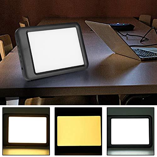 Lampada per Terapia della Luce,Dimmerabile a 10 Marce,Lampada SAD Luce 5000-35000LUX,Lampada luminoterapia contro il disturbo affettivo stagionale