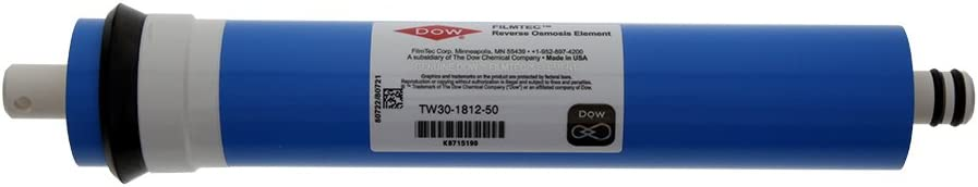 Dow Filmtec Outlet SALE TW30-1812-50 Max 55% OFF Reverse Osmosis Blue Membrane