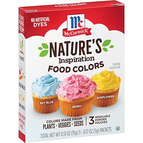 Plant Based Food Colors