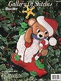 "Bucilla Wild West Santa Bear 15"" Felt Applique Stocking Kit 33254"