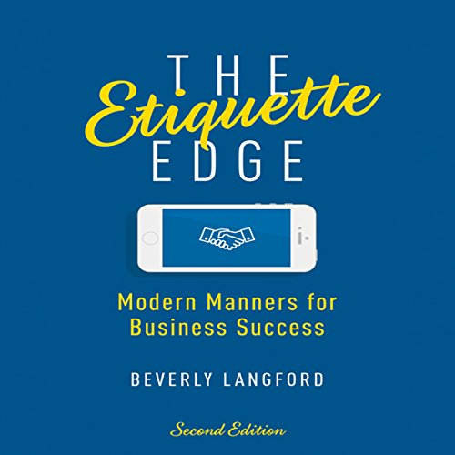 The Etiquette Edge audiobook cover art