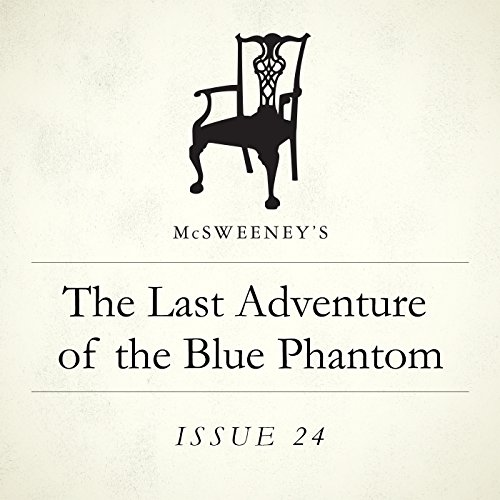 The Last Adventure of the Blue Phantom audiobook cover art