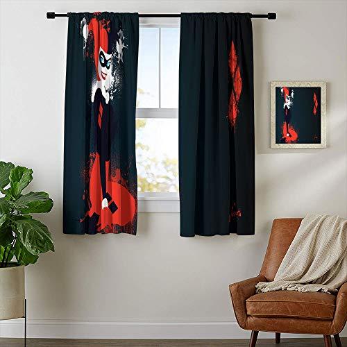 51ks30c0jyL Harley Quinn  Curtains