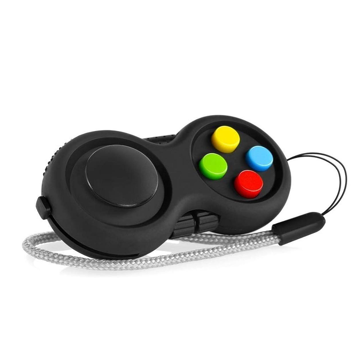 クランプ栄光スカートリリースストレスと不安、ストレス緩和、ADHD、ADD、自閉症に最適な8種類の機能を備えたFidgetキューブFidget Toy Controller