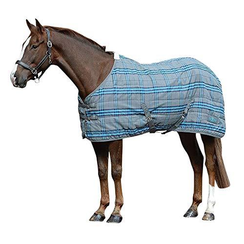 Saxon - Manta estándar PP hasta el cuello Mediano II para cuadra para caballos